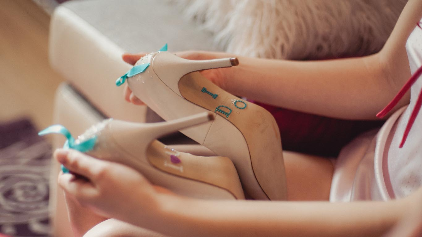 Customise Your Wedding Shoes