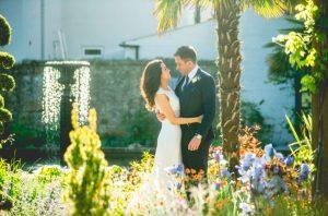 Romantic Wedding Photo